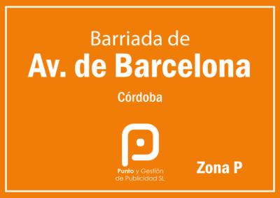 Avda. Barcelona